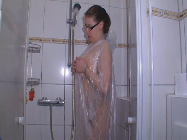 Vinyl unter der Dusche