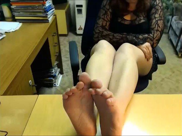 Gierig nach meinen Füßen