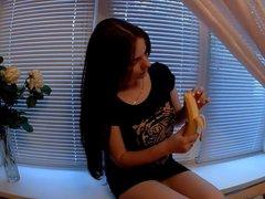 BJ mit Banane
