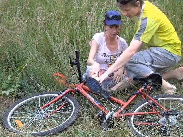 Radtour-Crash, Retter darf mei