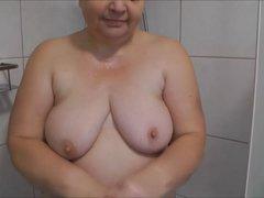 Unter der Dusche mit meinem...