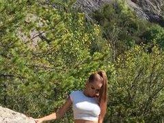 Pissen in der Natur