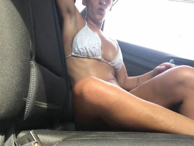 In my Car - Hot Summer- Bikinitime !