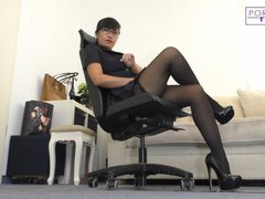 Dominantes Office Rollenspiel - deine Chefsekretärin erzieht dich, Chefchen!