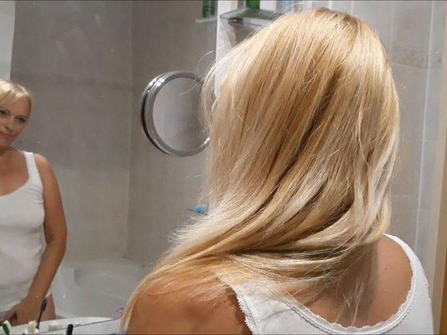 Duschen und pissen